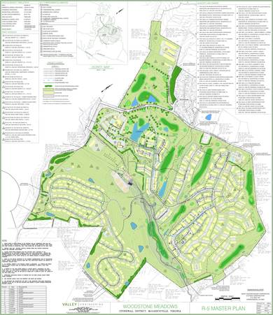 Woodstone Meadows Master Plan, August, 2011.
